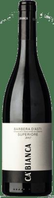 13,95 € Free Shipping | Red wine Tenimenti Ca' Bianca Superiore Antè D.O.C. Barbera d'Asti Piemonte Italy Barbera Bottle 75 cl