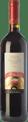 11,95 € Free Shipping | Red wine Tenimenti Ca' Bianca Teis D.O.C. Barbera d'Alba Piemonte Italy Barbera Bottle 75 cl