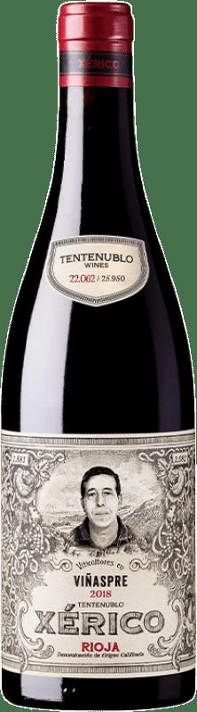16,95 € Envío gratis | Vino tinto Tentenublo Xérico Joven D.O.Ca. Rioja La Rioja España Tempranillo, Viura Botella 75 cl