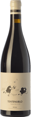 16,95 € Free Shipping | Red wine Tentenublo Crianza D.O.Ca. Rioja The Rioja Spain Tempranillo, Grenache Bottle 75 cl