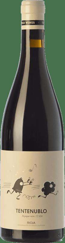 16,95 € Envío gratis | Vino tinto Tentenublo Crianza D.O.Ca. Rioja La Rioja España Tempranillo, Garnacha Botella 75 cl