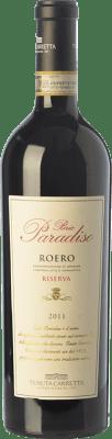 33,95 € Free Shipping | Red wine Tenuta Carretta Riserva Bric Paradiso Reserva D.O.C.G. Roero Piemonte Italy Nebbiolo Bottle 75 cl