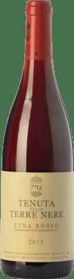 28,95 € Free Shipping | Red wine Tenuta Nere Rosso D.O.C. Etna Sicily Italy Nerello Mascalese, Nerello Cappuccio Bottle 75 cl