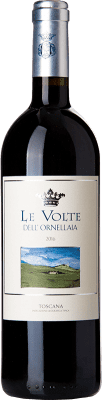 26,95 € Free Shipping | Red wine Ornellaia Le Volte I.G.T. Toscana Tuscany Italy Merlot, Cabernet Sauvignon, Sangiovese Bottle 75 cl