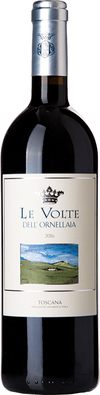23,95 € Free Shipping | Red wine Ornellaia Le Volte I.G.T. Toscana Tuscany Italy Merlot, Cabernet Sauvignon, Sangiovese Bottle 75 cl