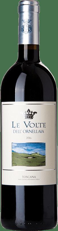 23,95 € Envío gratis | Vino tinto Ornellaia Le Volte I.G.T. Toscana Toscana Italia Merlot, Cabernet Sauvignon, Sangiovese Botella 75 cl