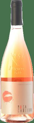 28,95 € Free Shipping | Rosé wine Tenuta di Castellaro Rosa Caolino I.G.T. Terre Siciliane Sicily Italy Nero d'Avola, Corinto Bottle 75 cl