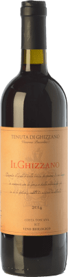 16,95 € Free Shipping | Red wine Tenuta di Ghizzano I.G.T. Toscana Tuscany Italy Merlot, Sangiovese Bottle 75 cl