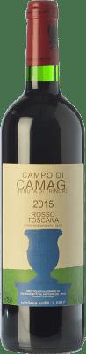 104,95 € Free Shipping | Red wine Tenuta di Trinoro Campo di Camagi I.G.T. Toscana Tuscany Italy Cabernet Franc Bottle 75 cl