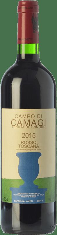 89,95 € Free Shipping | Red wine Tenuta di Trinoro Campo di Camagi I.G.T. Toscana Tuscany Italy Cabernet Franc Bottle 75 cl