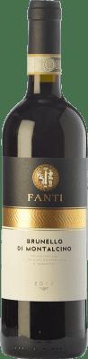 45,95 € Free Shipping | Red wine Vignaiolo Tenuta Fanti D.O.C.G. Brunello di Montalcino Tuscany Italy Sangiovese Bottle 75 cl