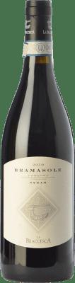 48,95 € Free Shipping | Red wine La Braccesca Bramasole D.O.C. Cortona Tuscany Italy Syrah Bottle 75 cl