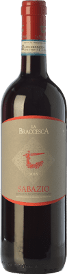 12,95 € Free Shipping | Red wine La Braccesca La Braccesca Sabazio D.O.C. Rosso di Montepulciano Tuscany Italy Merlot, Sangiovese Bottle 75 cl