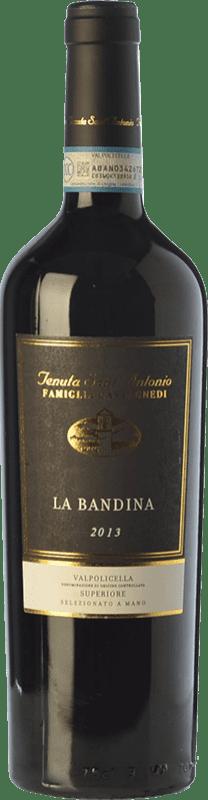 19,95 € Envoi gratuit | Vin rouge Tenuta Sant'Antonio Superiore Bandina D.O.C. Valpolicella Vénétie Italie Corvina, Rondinella, Oseleta, Croatina Bouteille 75 cl