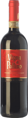 13,95 € Free Shipping   Red wine Tenuta Sette Ponti Vigna di Pallino D.O.C.G. Chianti Tuscany Italy Sangiovese Bottle 75 cl