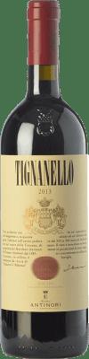 111,95 € Free Shipping | Red wine Tignanello Marchesi Antinori I.G.T. Toscana Tuscany Italy Cabernet Sauvignon, Sangiovese, Cabernet Franc Bottle 75 cl