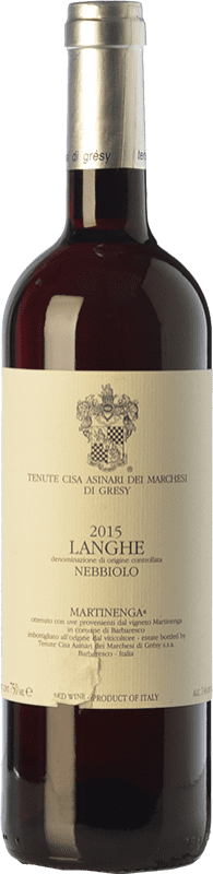 19,95 € Free Shipping   Red wine Cisa Asinari Marchesi di Grésy Martin D.O.C. Langhe Piemonte Italy Nebbiolo Bottle 75 cl