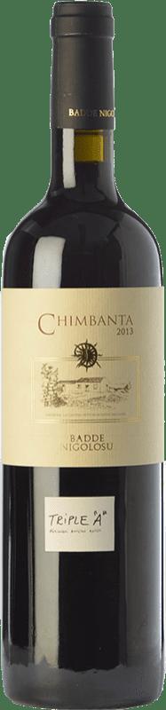 23,95 € Envío gratis | Vino tinto Dettori Chimbanta I.G.T. Romangia Sardegna Italia Monica Botella 75 cl
