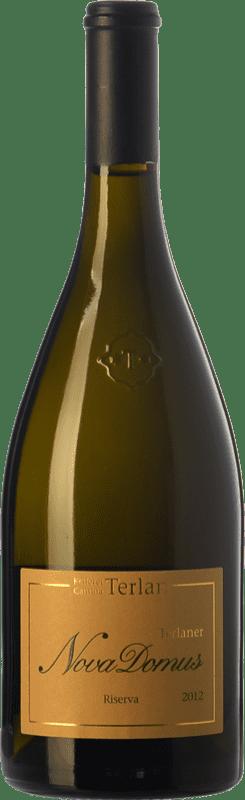36,95 € Free Shipping | White wine Terlano Nova Domus D.O.C. Alto Adige Trentino-Alto Adige Italy Chardonnay, Sauvignon White, Pinot White Bottle 75 cl