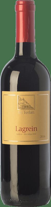 16,95 € Free Shipping | Red wine Terlano D.O.C. Alto Adige Trentino-Alto Adige Italy Lagrein Bottle 75 cl
