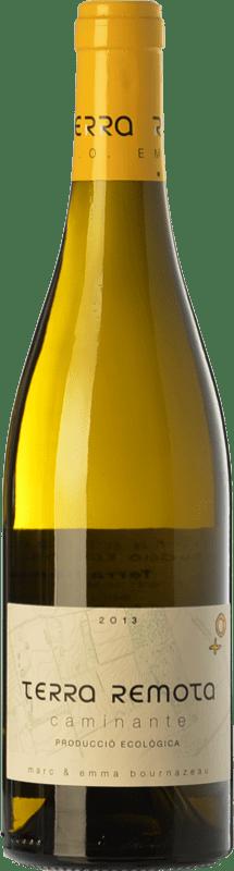 19,95 € Envío gratis | Vino blanco Terra Remota Caminante Crianza D.O. Empordà Cataluña España Garnacha Blanca, Chardonnay, Chenin Blanco Botella 75 cl