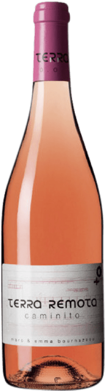 16,95 € Free Shipping | Rosé wine Terra Remota Caminito D.O. Empordà Catalonia Spain Tempranillo, Syrah, Grenache Bottle 75 cl