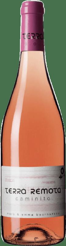 16,95 € Envío gratis | Vino rosado Terra Remota Caminito D.O. Empordà Cataluña España Tempranillo, Syrah, Garnacha Botella 75 cl