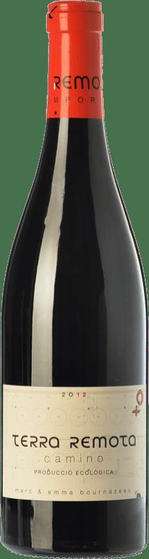 15,95 € Free Shipping | Red wine Terra Remota Camino Crianza D.O. Empordà Catalonia Spain Tempranillo, Syrah, Grenache, Cabernet Sauvignon Bottle 75 cl