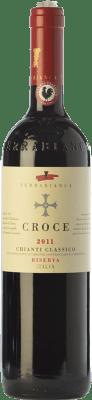 24,95 € Free Shipping | Red wine Terrabianca Croce Riserva Reserva D.O.C.G. Chianti Classico Tuscany Italy Sangiovese, Canaiolo Bottle 75 cl