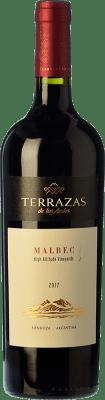 17,95 € Envoi gratuit | Vin rouge Terrazas de los Andes High Altitude Crianza I.G. Mendoza Mendoza Argentine Malbec Bouteille 75 cl