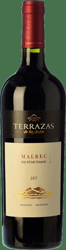 14,95 € Free Shipping | Red wine Terrazas de los Andes High Altitude Crianza I.G. Mendoza Mendoza Argentina Malbec Bottle 75 cl