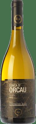 26,95 € Free Shipping | White wine Terrer de Pallars Conca d'Orcau Blanc Crianza D.O. Costers del Segre Catalonia Spain Macabeo Bottle 75 cl