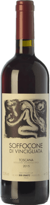 69,95 € Envoi gratuit   Vin rouge Bibi Graetz Soffocone di Vincigliata I.G.T. Toscana Toscane Italie Sangiovese, Colorino, Canaiolo Bouteille Magnum 1,5 L