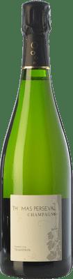 48,95 € 免费送货 | 白起泡酒 Thomas Perseval Tradition A.O.C. Champagne 香槟酒 法国 Pinot Black, Chardonnay, Pinot Meunier 瓶子 75 cl | 成千上万的葡萄酒爱好者信赖我们,保证最优惠的价格,免费送货,购买和退货,没有复杂性.