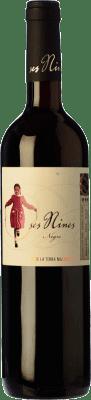 9,95 € Kostenloser Versand | Rotwein Tianna Negre Ses Nines Joven D.O. Binissalem Balearen Spanien Cabernet Sauvignon, Callet, Mantonegro Flasche 75 cl