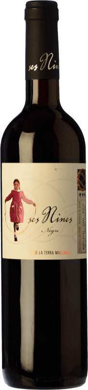 9,95 € Free Shipping | Red wine Tianna Negre Ses Nines Joven D.O. Binissalem Balearic Islands Spain Cabernet Sauvignon, Callet, Mantonegro Bottle 75 cl