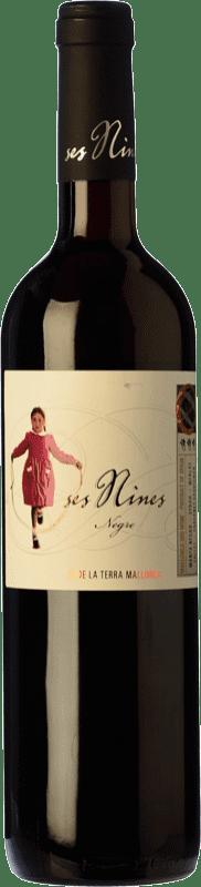 9,95 € Envío gratis | Vino tinto Tianna Negre Ses Nines Joven D.O. Binissalem Islas Baleares España Cabernet Sauvignon, Callet, Mantonegro Botella 75 cl