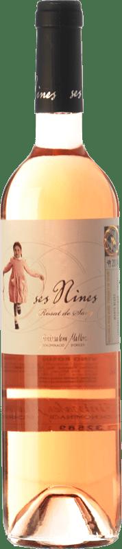 11,95 € Free Shipping | Rosé wine Tianna Negre Ses Nines Rosat de Sang D.O. Binissalem Balearic Islands Spain Cabernet Sauvignon, Callet, Mantonegro Bottle 75 cl