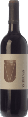 6,95 € Free Shipping | Red wine Tierras de Orgaz Valdeuvas Joven I.G.P. Vino de la Tierra de Castilla Castilla la Mancha Spain Tempranillo Bottle 75 cl