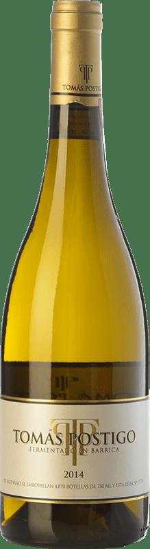 29,95 € Free Shipping | White wine Tomás Postigo Fermentado en Barrica Crianza I.G.P. Vino de la Tierra de Castilla y León Castilla y León Spain Verdejo Bottle 75 cl
