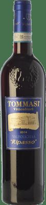 18,95 € Free Shipping | Red wine Tommasi D.O.C. Valpolicella Ripasso Veneto Italy Corvina, Rondinella, Corvinone Bottle 75 cl