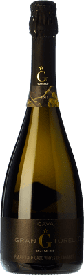 25,95 € Free Shipping   White sparkling Torelló Gran Brut Nature Gran Reserva 2010 D.O. Cava Catalonia Spain Macabeo, Xarel·lo, Parellada Bottle 75 cl.   Thousands of wine lovers trust us to get the best price guarantee, free shipping always and hassle-free shopping and returns.