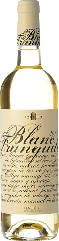 14,95 € Envío gratis   Vino blanco Torelló Blanc Tranquille D.O. Penedès Cataluña España Macabeo, Xarel·lo, Parellada Botella Mágnum 1,5 L