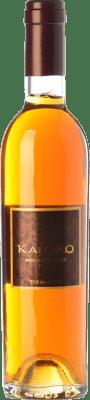 16,95 € Envío gratis | Vino dulce Tormaresca Kaloro D.O.C. Moscato di Trani Puglia Italia Moscatel Blanco Media Botella 37 cl
