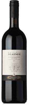 33,95 € Free Shipping | Red wine Tormaresca Masseria Maìme I.G.T. Salento Campania Italy Negroamaro Bottle 75 cl