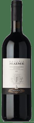 27,95 € Kostenloser Versand   Rotwein Tormaresca Masseria Maìme I.G.T. Salento Kampanien Italien Negroamaro Flasche 75 cl