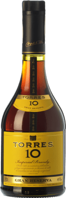 15,95 € Free Shipping | Brandy Torres 10 D.O. Catalunya Catalonia Spain Bottle 70 cl