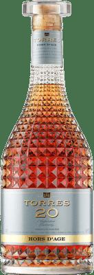 36,95 € Envío gratis | Brandy Torres 20 Hors d'Age D.O. Catalunya Cataluña España Botella 70 cl