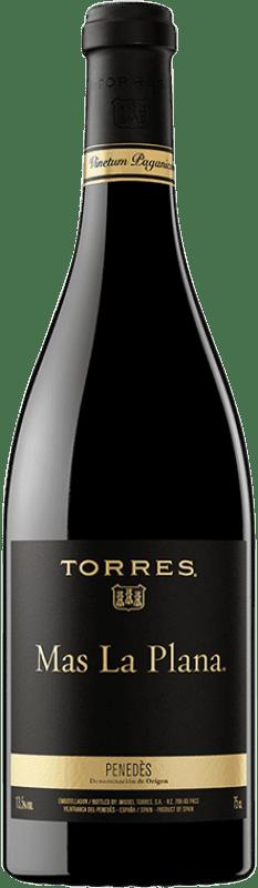 62,95 € Free Shipping | Red wine Torres Mas La Plana Crianza D.O. Penedès Catalonia Spain Cabernet Sauvignon Bottle 75 cl