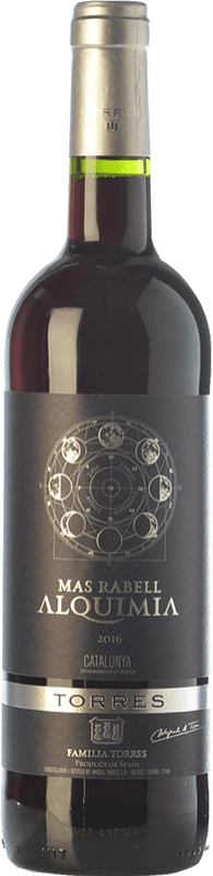 7,95 € Free Shipping | Red wine Torres Mas Rabell Alquimia Joven D.O. Catalunya Catalonia Spain Grenache, Carignan Bottle 75 cl